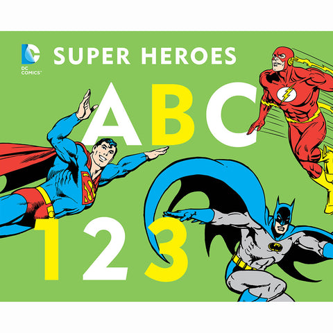 DC Super Heroes ABC 123
