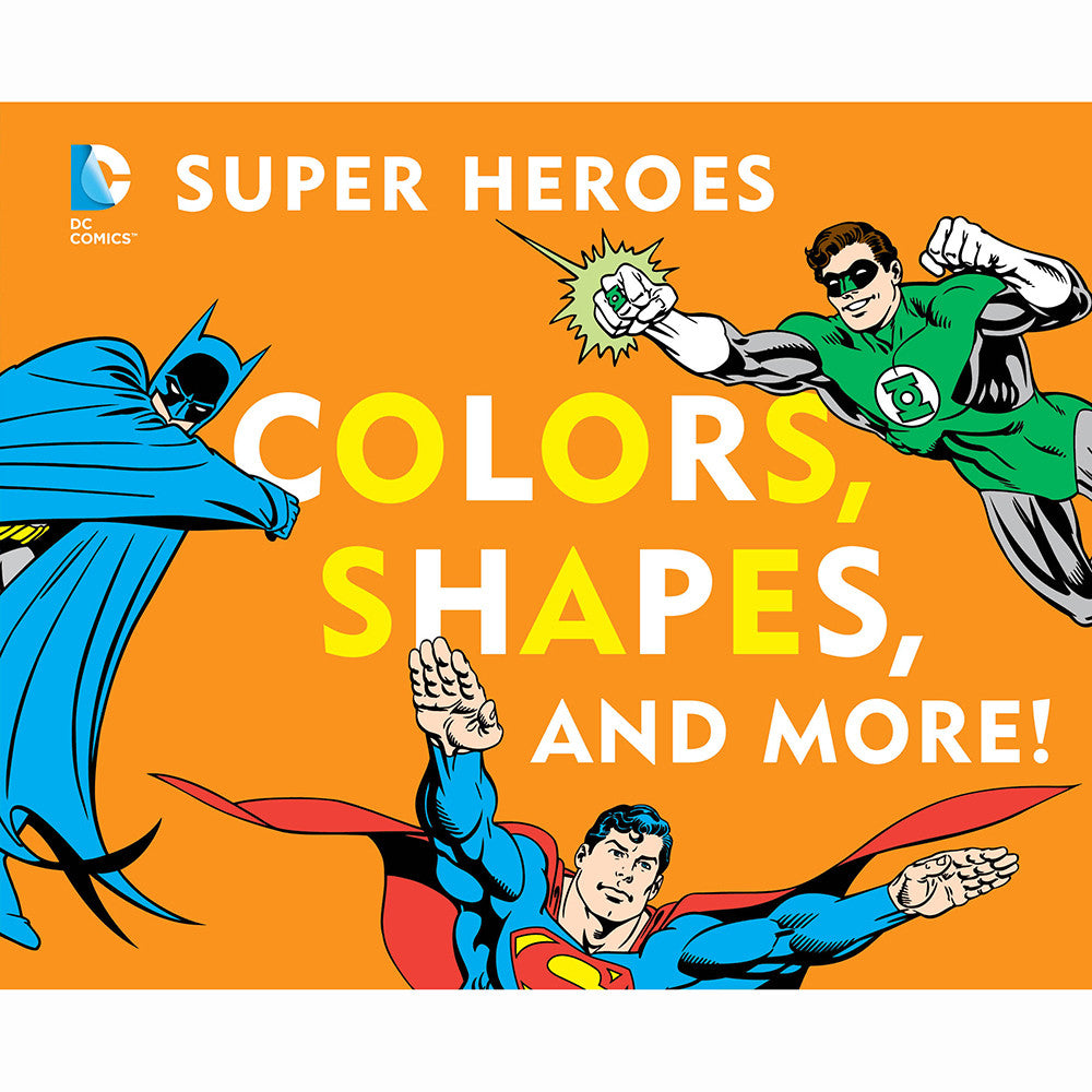 Super Heroes Colors, Shapes
