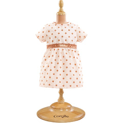 "Corolle Outfit Pink Gold Dress (12"")"