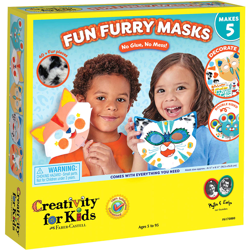 Creativity For Kids Fun Furry Masks