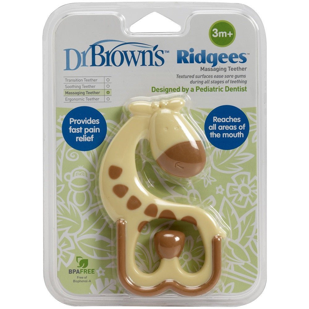 Dr. Brown's Ridgees Giraffe Teether