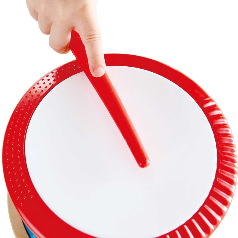 Hape Double-sided Hand Drum - Tadpole