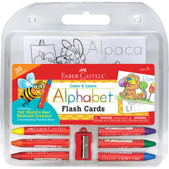 Faber-Castell Color & Learn Alphabet Flash Cards