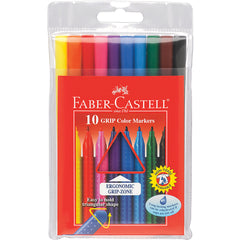 Faber-Castell Grip Color Markers Set of 10
