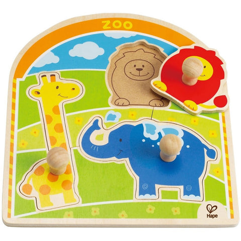HaPe Knob Puzzle At The Zoo