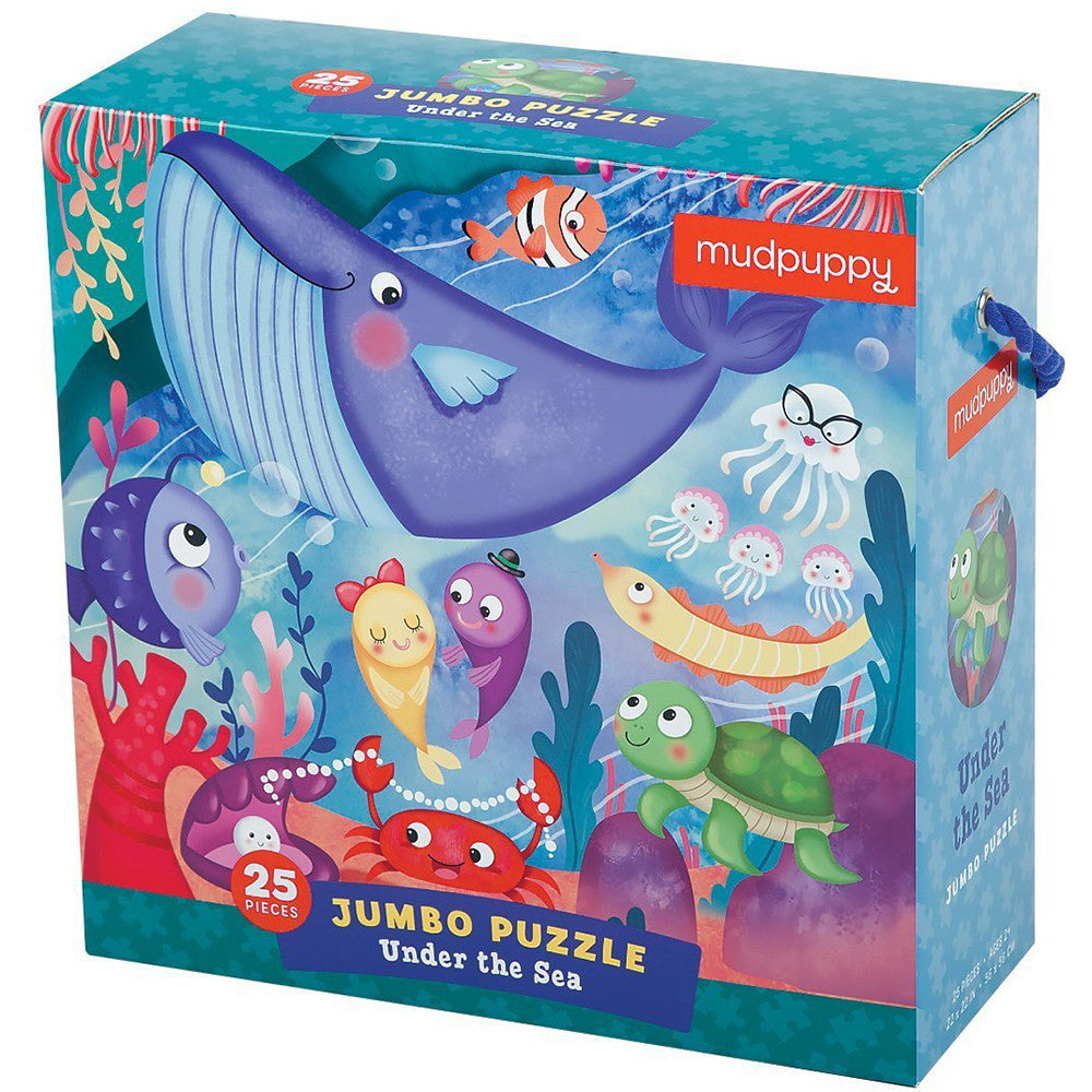 Mudpuppy Jumbo Puzzle Under the Sea