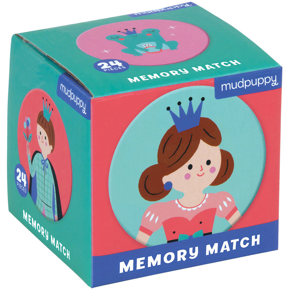 Mudpuppy Mini Memory Match Enchanted Princess