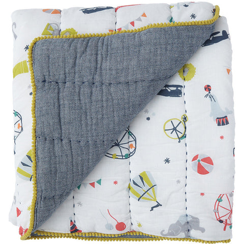 Petit Pehr Big Top Quilted Blanket