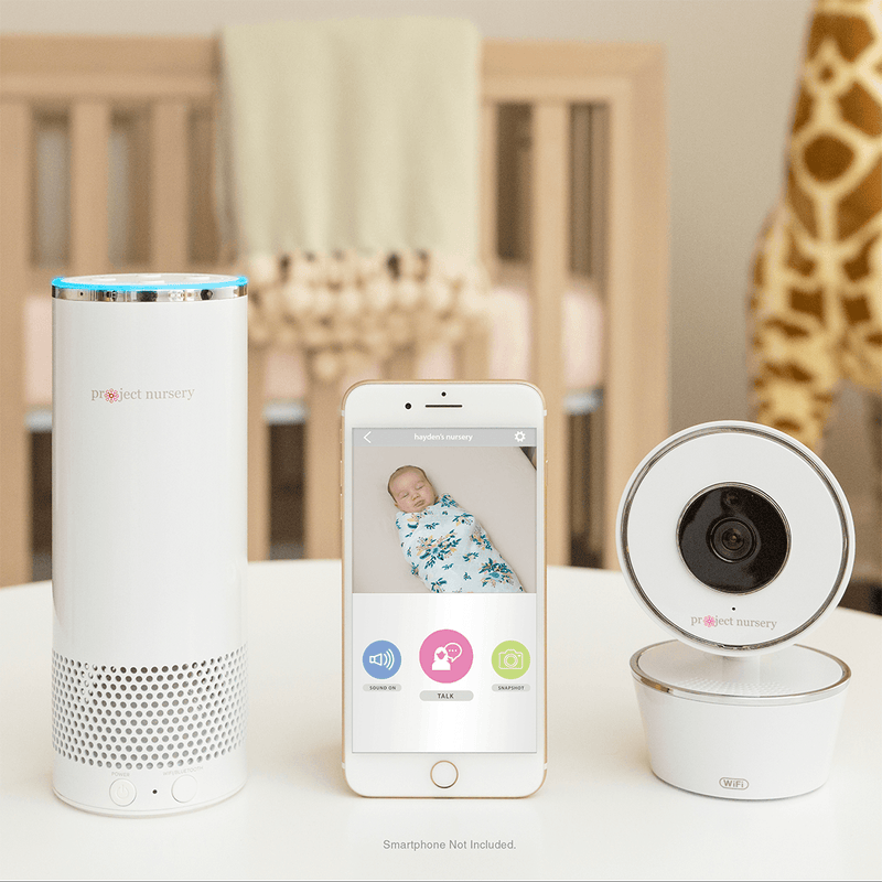Project Nursery Smart Nursery Baby Monitor System with Alexa