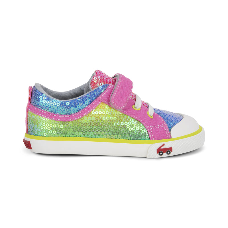 See Kai Run Kristin- Rainbow Sequins