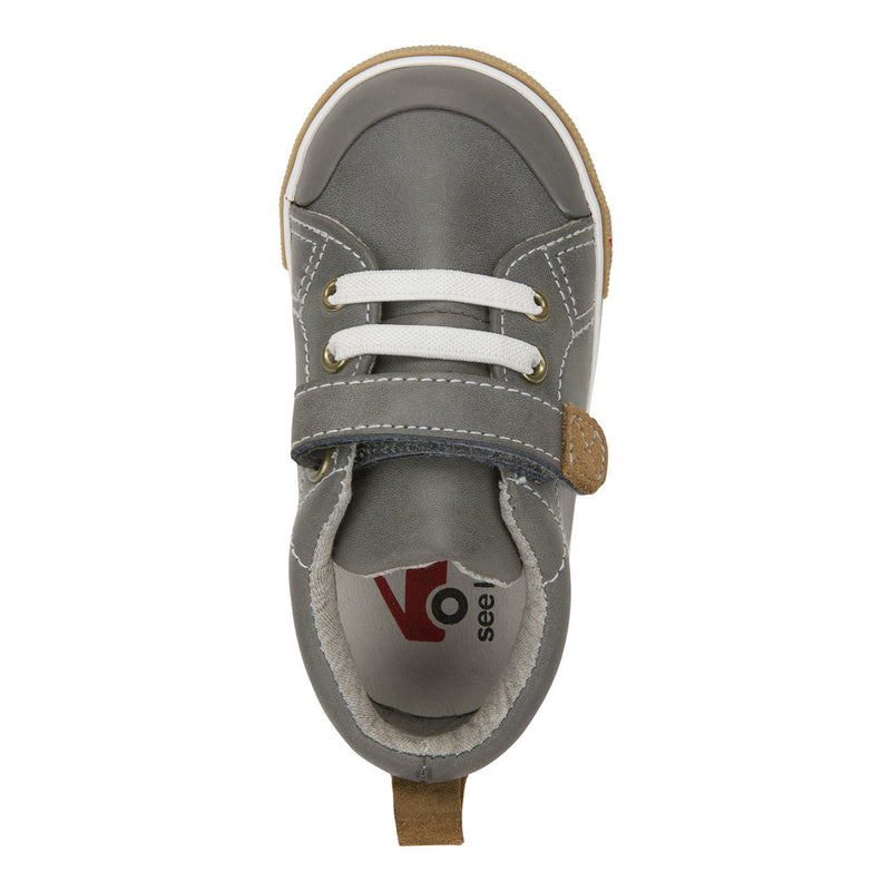See Kai Run Stevie II Grey Leather