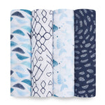 Aden + Anais Swaddle 4 - pack - Tadpole