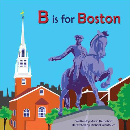 B is for Boston (board book) - Tadpole