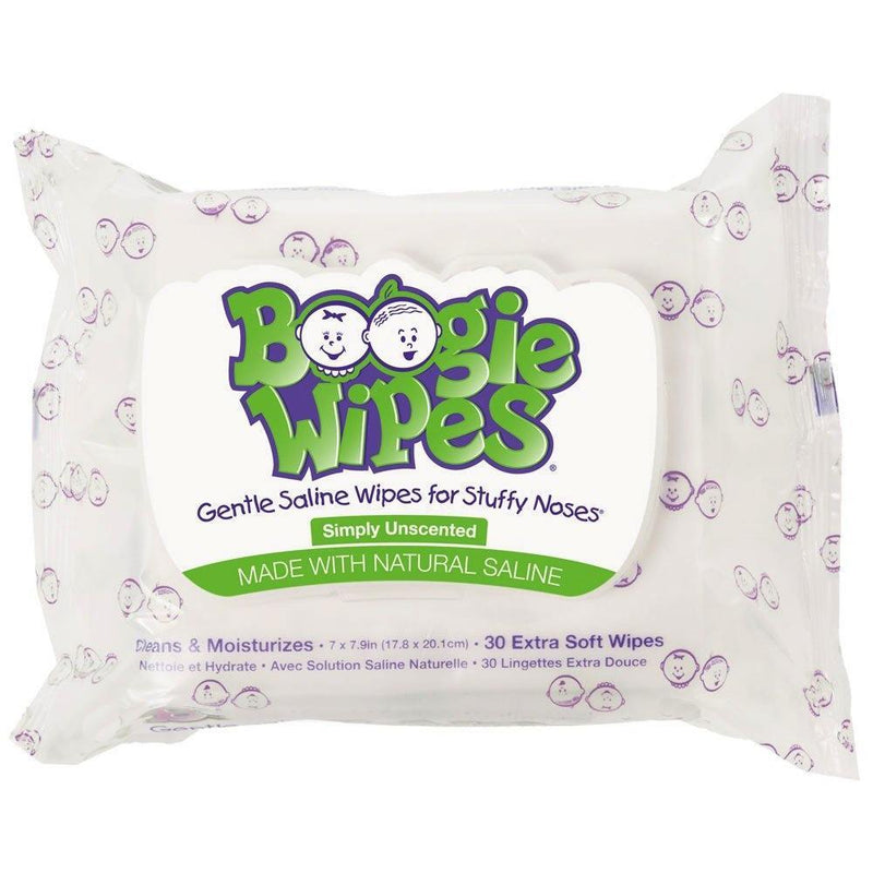 Boogie Wipes 30-Pack Unscented - Tadpole