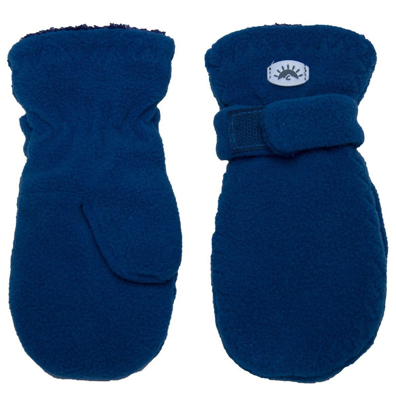 CaliKids Fleece Mittens Blue - Tadpole