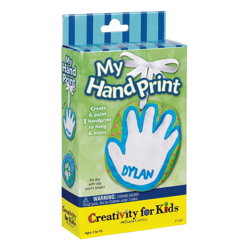 Creativity For Kids Mini Kit My Hand Print