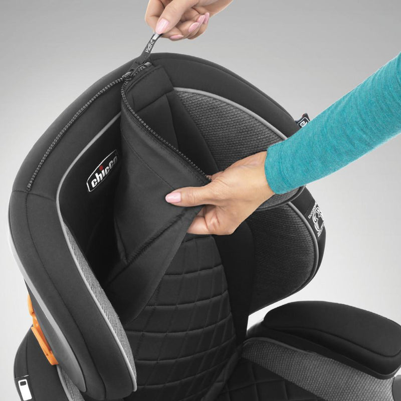 Chicco KidFit Zip Plus 2-in-1 Belt Positioning Booster Car Seat - Tadpole