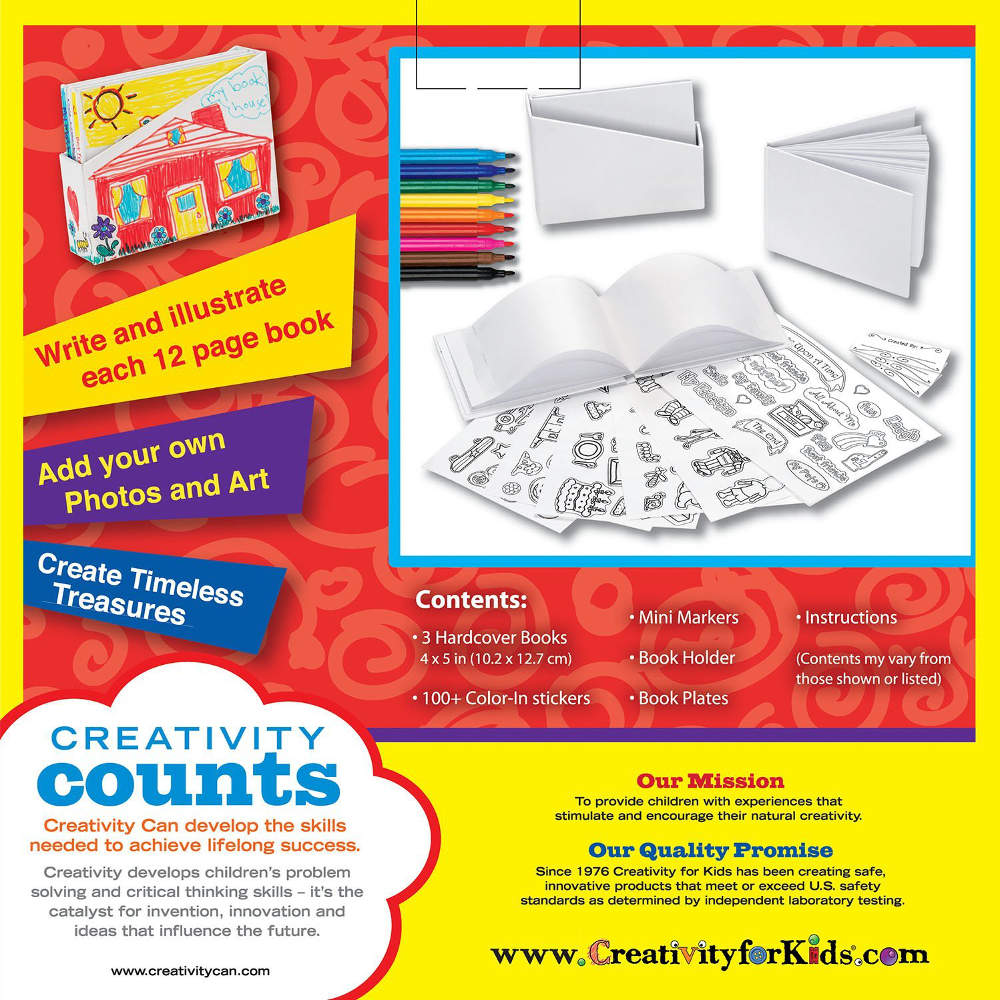 Creativity For Kids Create Your Own 3 Bitty Books