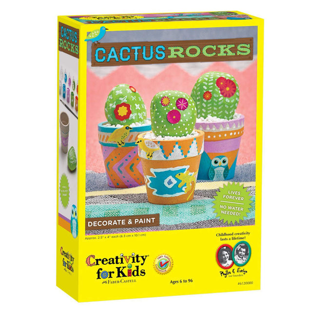Creativity For Kids Cactus Rocks