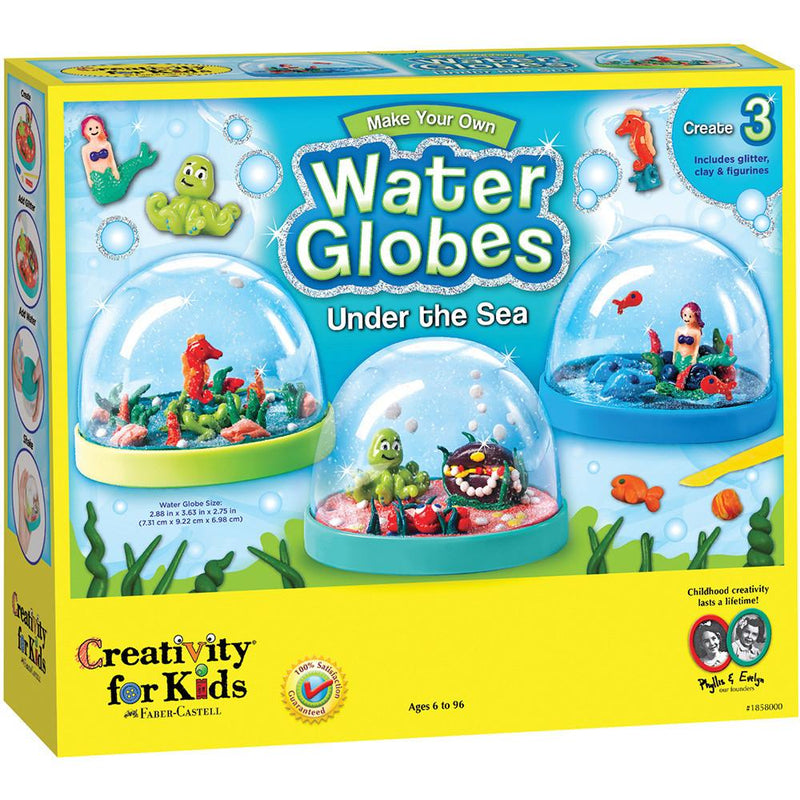 Creativity For Kids Make Your Own Water Globes - Tadpole