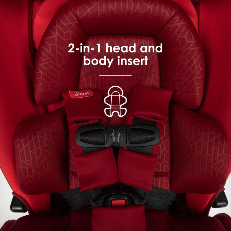 Diono Radian 3RXT Latch 3-Across All-in-One Convertible Car Seat - Tadpole