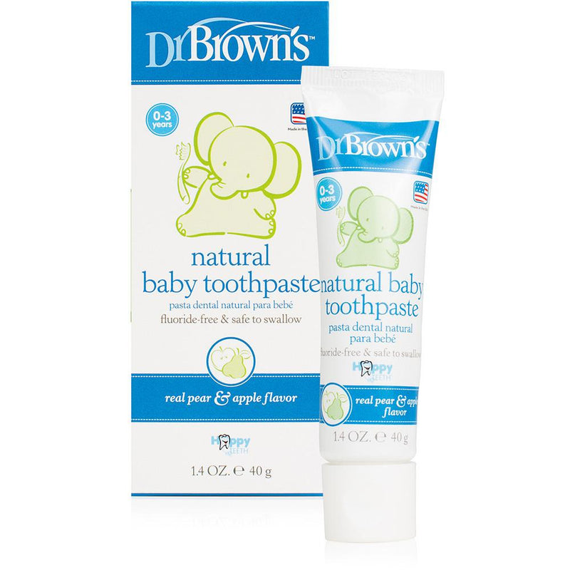 Dr. Brown's Natural Baby Toothpaste - Tadpole
