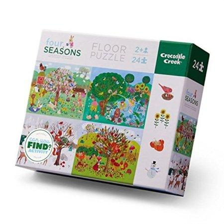 Early Learning Puzzle Seasons - Tadpole