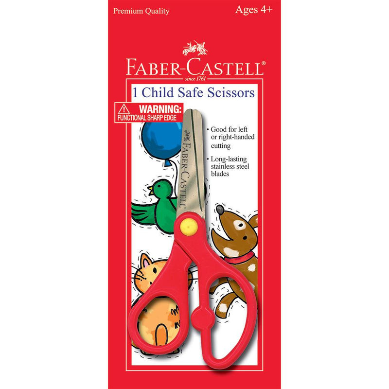 Faber-Castell Child-Safe Scissors - Tadpole