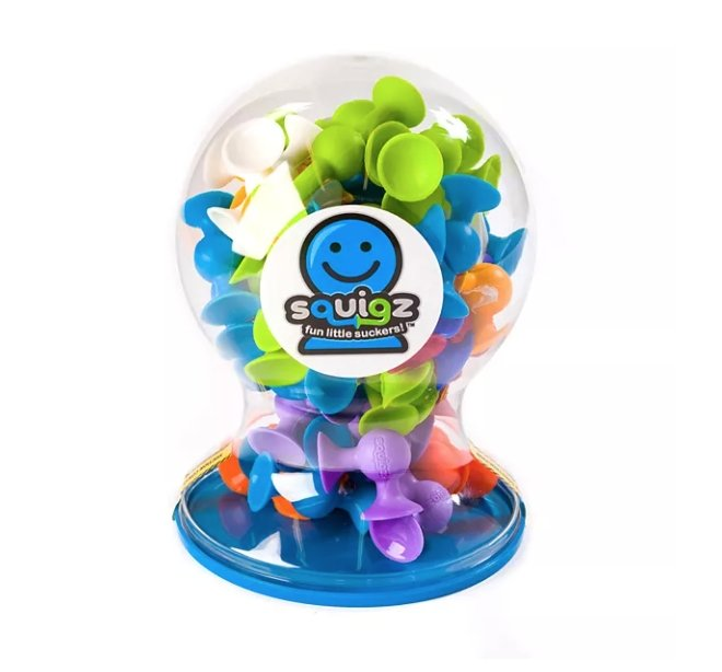 Fat Brain Squigz - 50 piece Deluxe Set - Tadpole