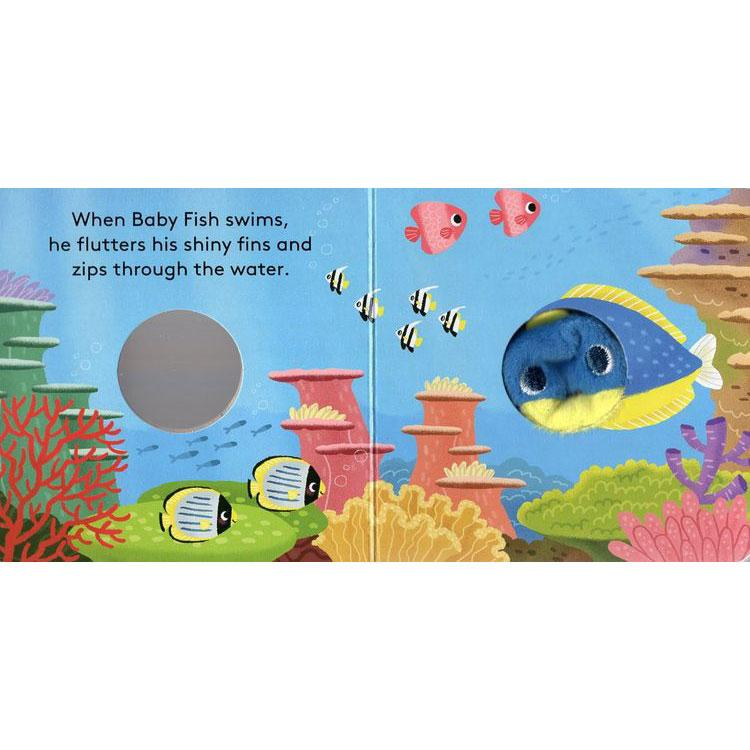 Finger Puppet Book: Baby Fish - Tadpole