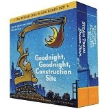 Goodnight, Goodnight, Construction Site and Steam Train, Dream Train BB Boxed Set - Tadpole