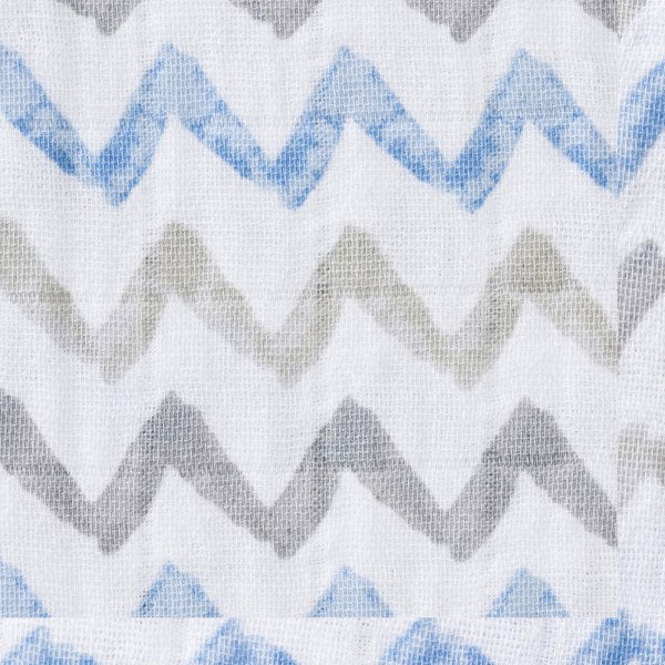 Halo SleepSack Wearable Blanket Muslin Chevron Taupe