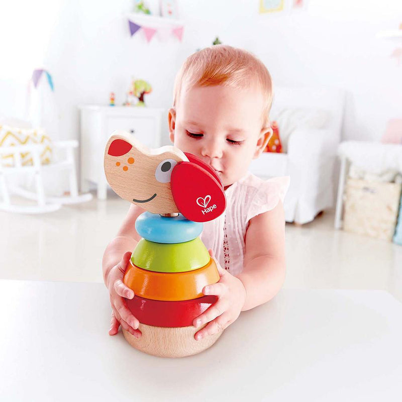 Hape Pepe Sound Stacker - Tadpole