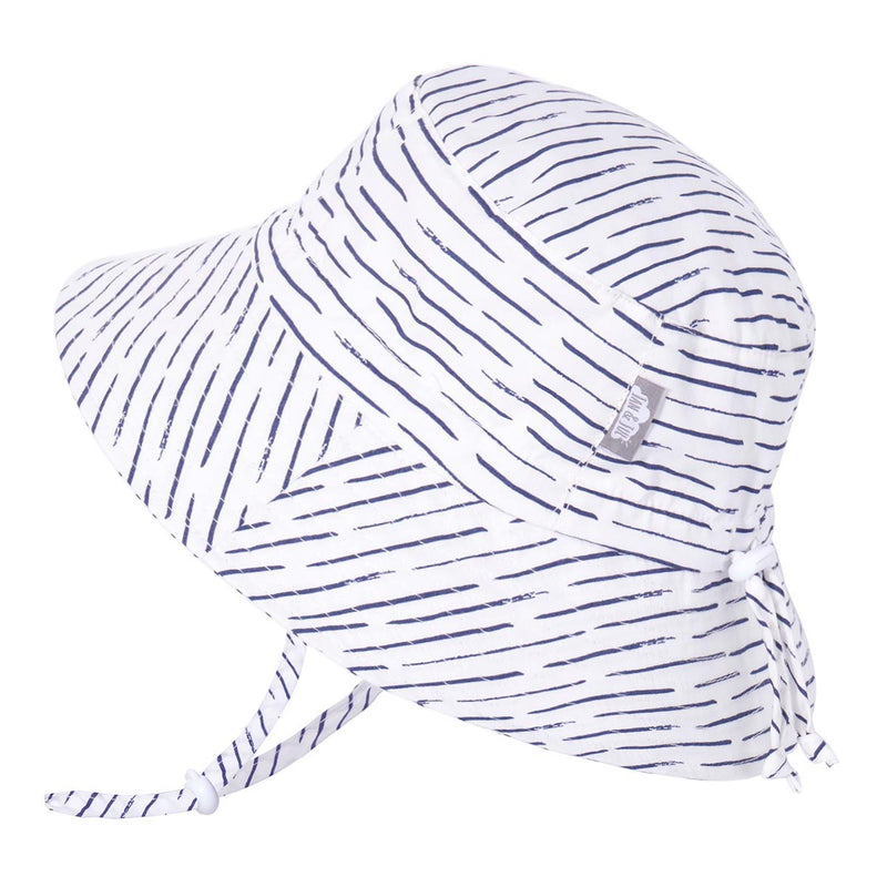 Jan & Jul White Waves Cotton Bucket Hat - Tadpole