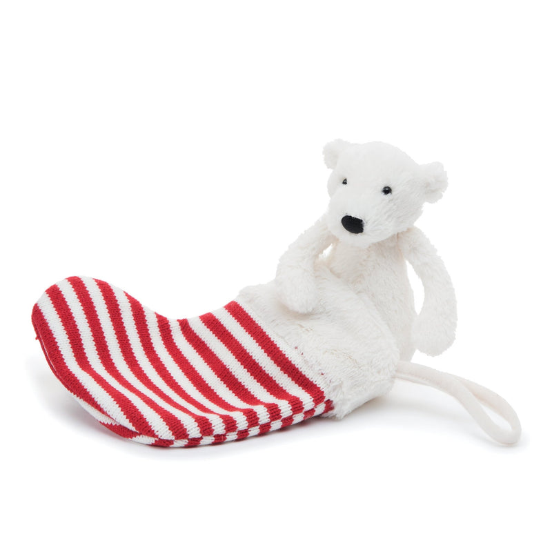 Jellycat Pax Polar Bear Stocking - Tadpole