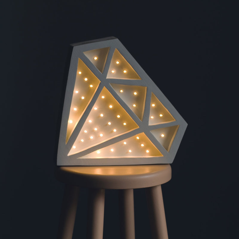 Little Lights Diamond Lamp - Tadpole