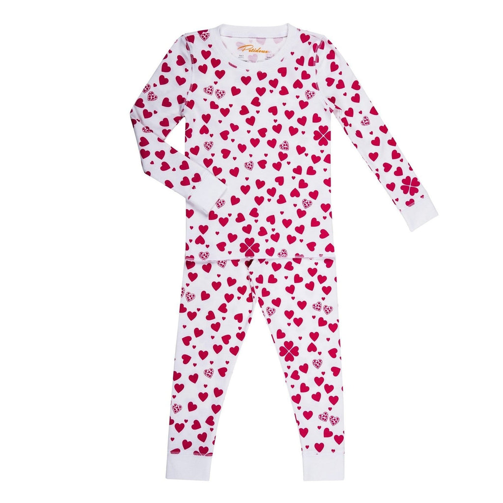 Lots of Hearts Pajamas - Tadpole