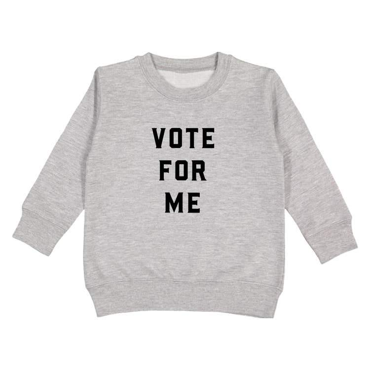 Love Bubby Vote for Me Pullover - Tadpole