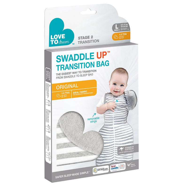 Love To Dream Swaddle Up Transitions Bag - Tadpole
