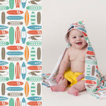 Luv Bug UPF 50+ Sunscreen Towel with Hood - Tadpole
