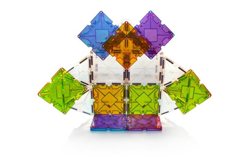 Magna-Tiles Freestyle 40-piece Set With NEW X Shape - Tadpole