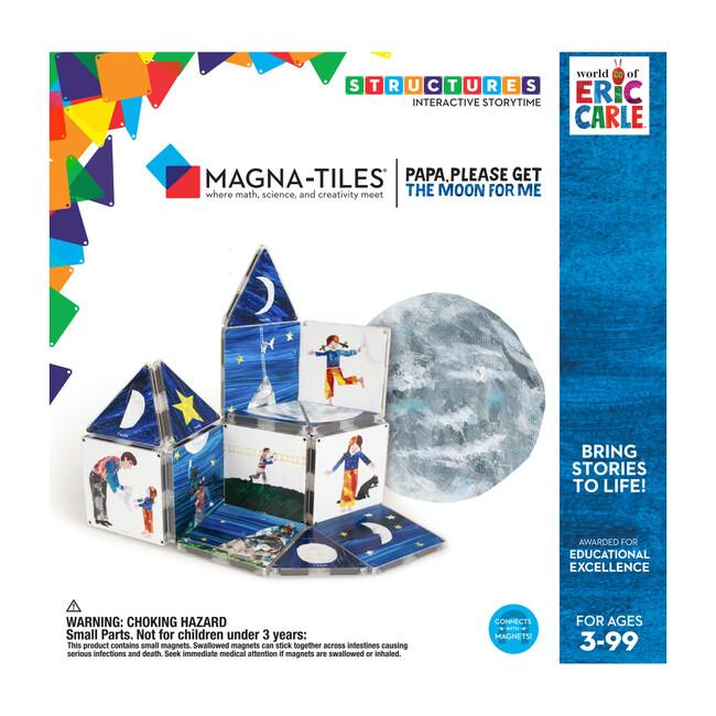 Magna-Tiles Papa, Please Get The Moon 16-piece Set - Tadpole