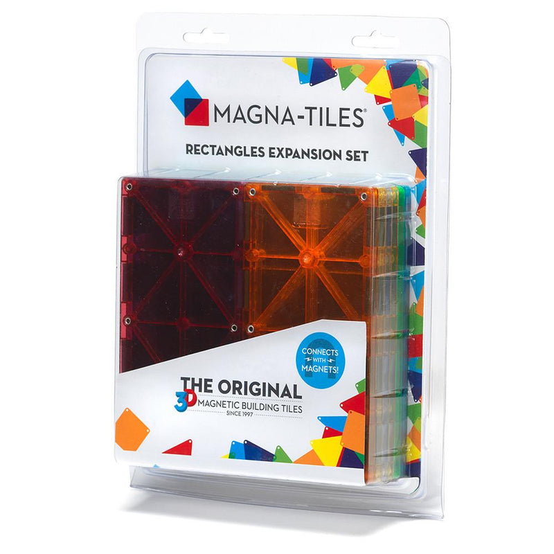 Magna-Tiles Rectangles 8-piece Expansion Set - Tadpole