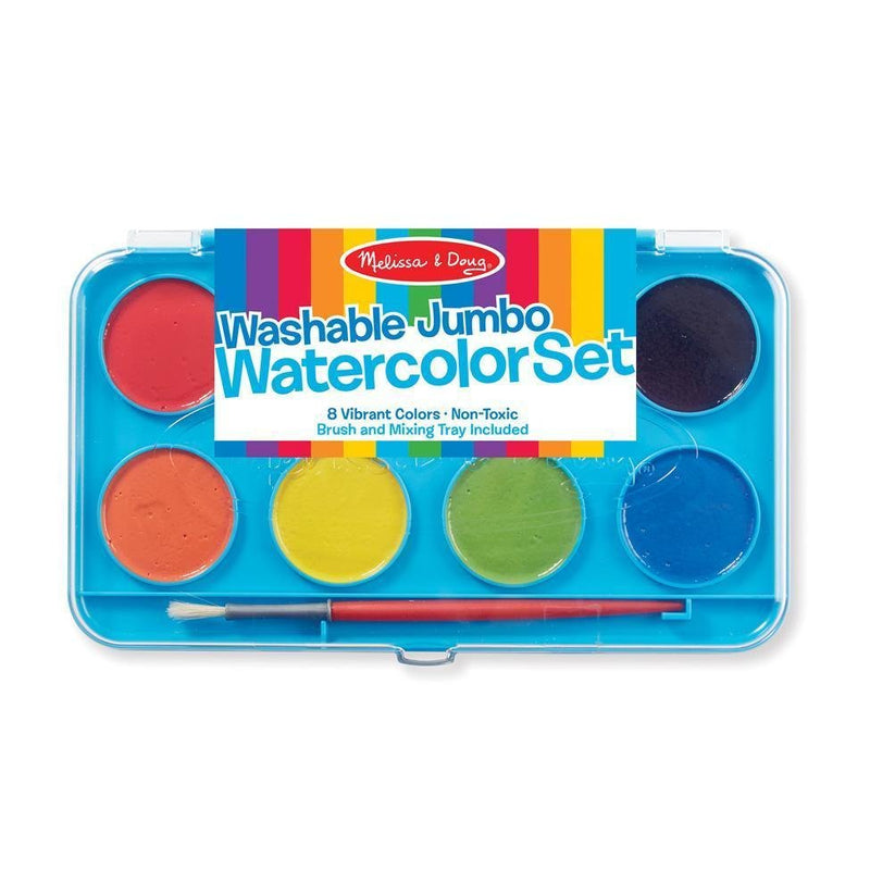 Melissa & Doug Washable Jumbo Watercolor Set - Tadpole