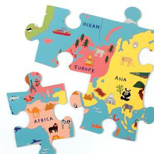Mudpuppy Jumbo Puzzle Our World - Tadpole