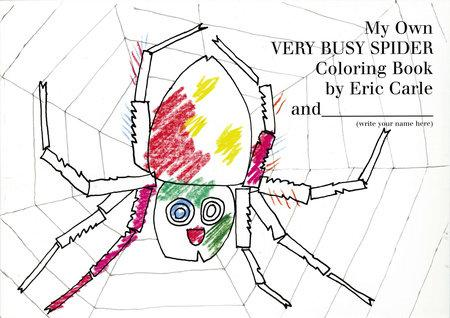 My Very Own Very Busy Spider Coloring Book - Tadpole