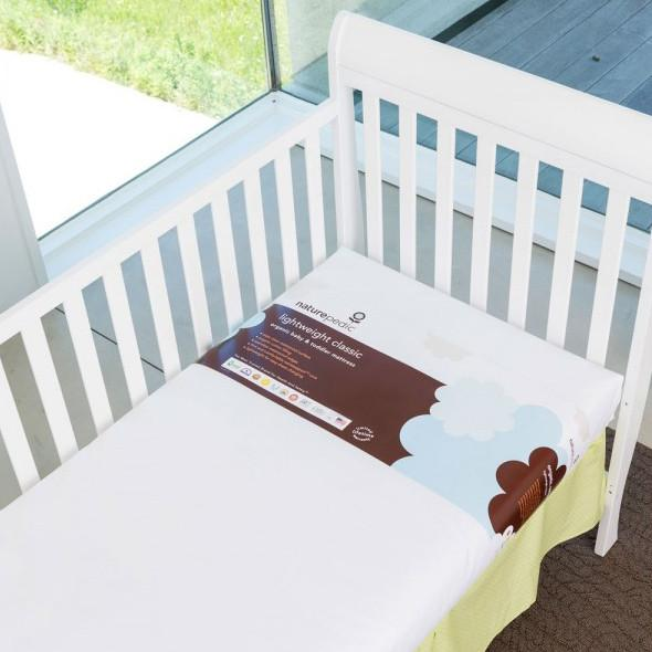 Naturepedic Lightweight Crib Mattress - Tadpole