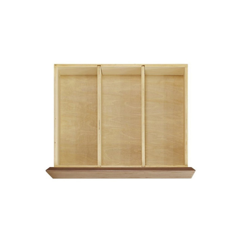 Novella 6-Drawer Double Dresser- Stained Ash / Ivory - Tadpole