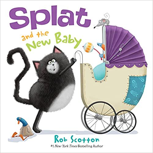 Splat the Cat: Splat and the New Baby - Tadpole