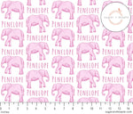 Sugar + Maple Small Stretchy Blanket - Elephant Pink - Tadpole